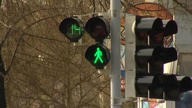 Новые светофоры будут отсчитывать секунды