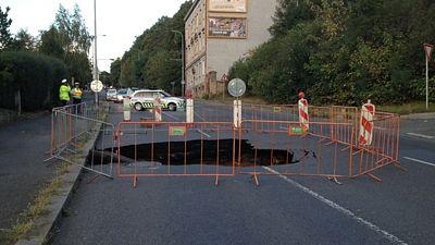 Улица Просецка закрыта для движения