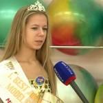 Победительница конкурса Дарья Барановская