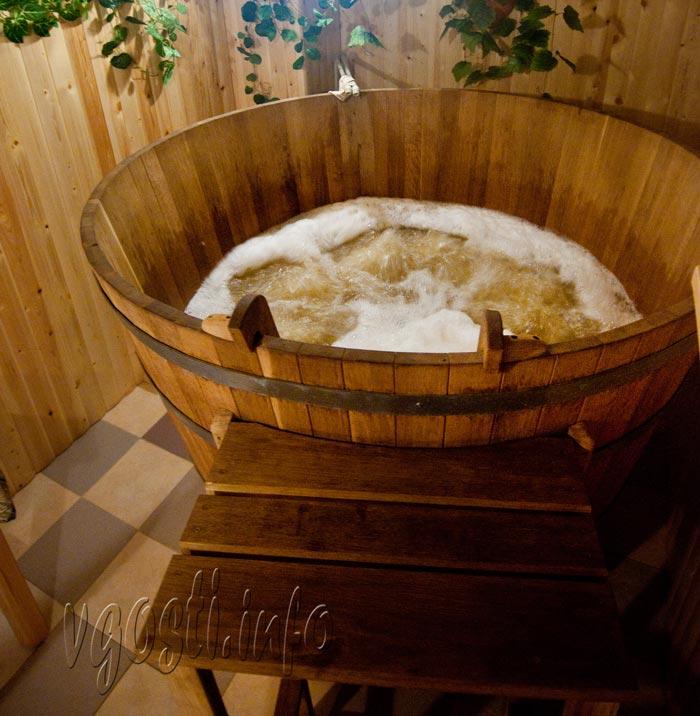 Стоимость принятия пивной ванны – 700 чешских крон