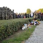 Памятник 82 расстрелянным фашистами детям в деревне Лидице