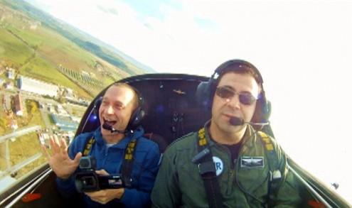 Полёты над Чехией