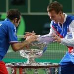 Чешский теннис празднует победу