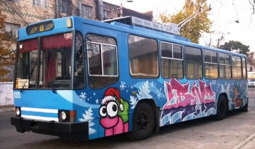 Одесса покупает подержанные чешские троллейбусы