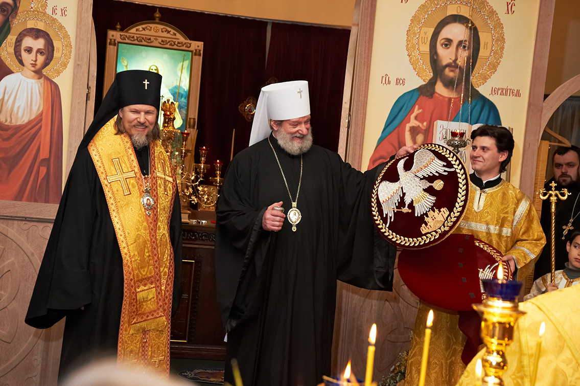 29 декабря 2012 г. в Праге был освящён новый храм Русской Православный Церкви