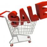 Скидки во время распродаж достигают 80%
