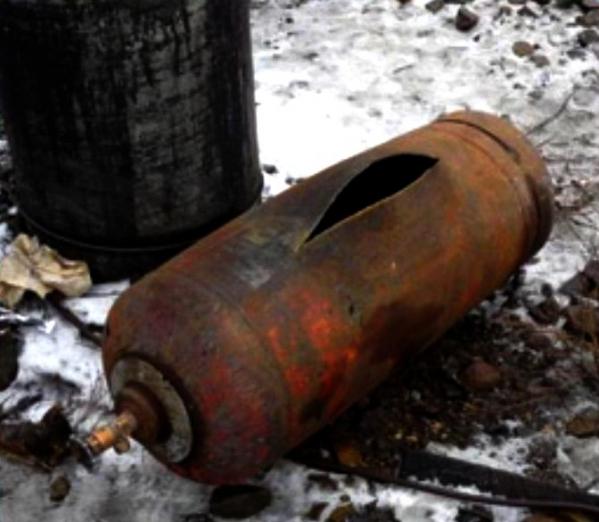 От взрыва газового баллона пострадали 5 человек