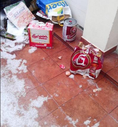 Всего было повреждено 4 отеля