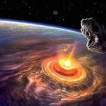 Длина метеоритного следа составила 254 км