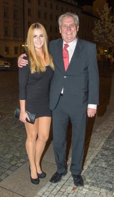 Катержина и Милош Земан