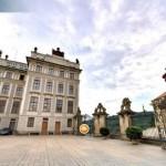 По Пражскому граду можно совершить виртуальную экскурсию