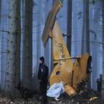 Самолёт нашли рабочие в лесу
