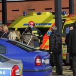 Пять человек было ранено в результате обрушения потолка в торговом центре