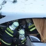 В автобусной аварии погибла девушка