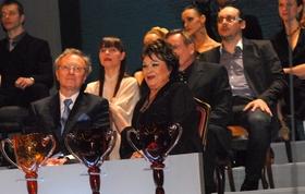 Награждение лауреатов премии «Талия»