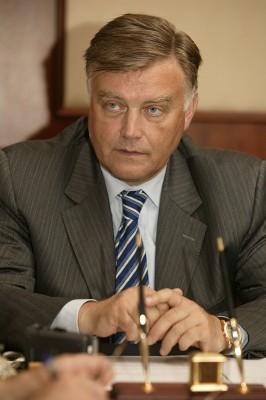 Глава компании «Российские железные дороги» Владимир Якунин