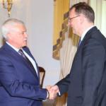 Губернатор Петербурга провёл встречу с Петром Нечасом