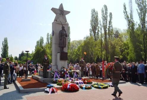 В Праге прошла церемония торжественного возложения венков