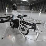 На новом велосипеде можно будет летать около 5 минут