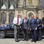 Милош Земан будет ездить на автомобиле Škoda Superb