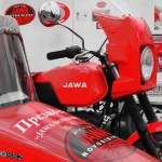 Мотопробег на легендарных мотоциклах JAWA стартовал в Новосибирске 12 июня