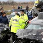 В Праге стокнулись три эксклюзивных автомобиля