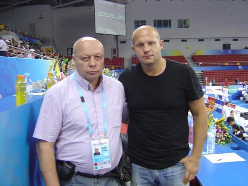 Игорь Шашурин с Фёдором Емельяненко