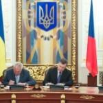 Главы Чехии и Украины подписали ряд важных документов