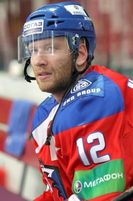Капитан пражского «Льва» Йиржи Новотны