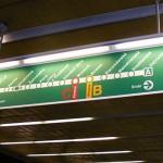 Линия А пражского метро будет закрыто на выходные