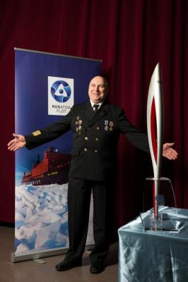 Капитан ледокола «50 лет Победы» Валентин Давыдянц