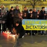 В Праге протестовали против войны с Украиной