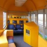 Так будут выглядеть детские купе в поездах