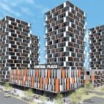 CENTRAL GROUP построит 18-этажный жилой комплекс на Праге 3