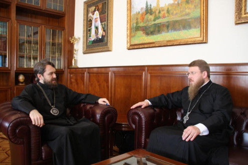 Председатель ОВЦС принял нового представителя Православной Церкви Чешских земель и Словакии