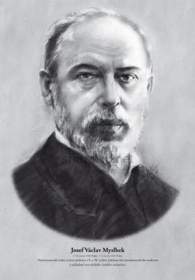 Скульптор Йозеф Вацлав Мысльбек