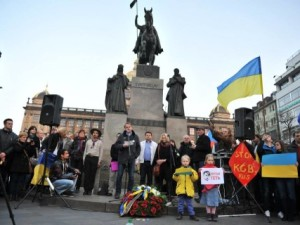 Митинг против России