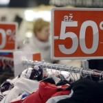 Чешские магазины были оштрафованы за нарушения во время распродаж