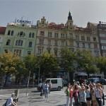 Начальная цена за дом на Вацлавской площади - 262 млн крон