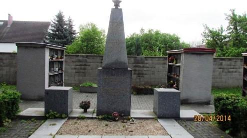 Захоронения советских солдат