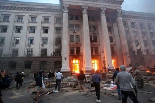 Катастрофа в Одессе