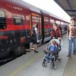 Новый скоростной поезд будет курсировать между Прагой и Веной