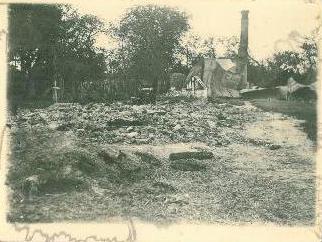 Сожжённая деревня Малин