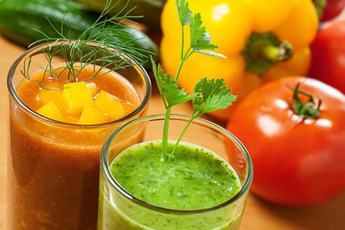 Фруктово-овощные смузи