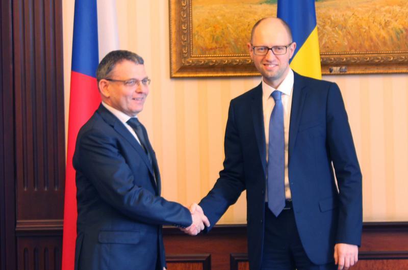 Глава чешского МИД находится с визитом на Украине