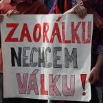 Более двух сотен человек пришли на митинг, чтобы сказать «Нет войне!»