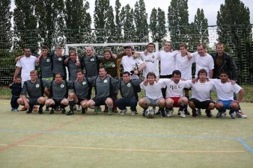 Команды «Пражского телеграфа» и общества Přátele Ruska v České Republice сыграли в футбол