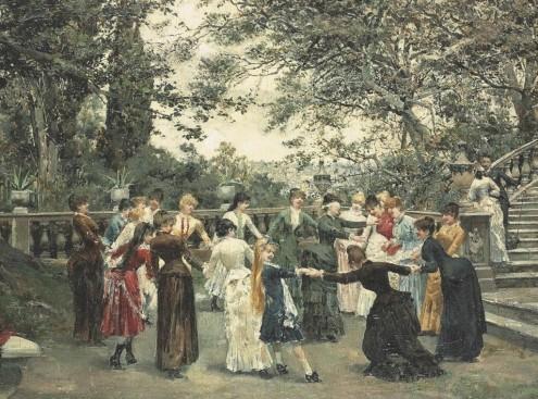 Развлекательная культура XIX века