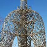 Смотровая башея из ветвей деревьев появится в Праге