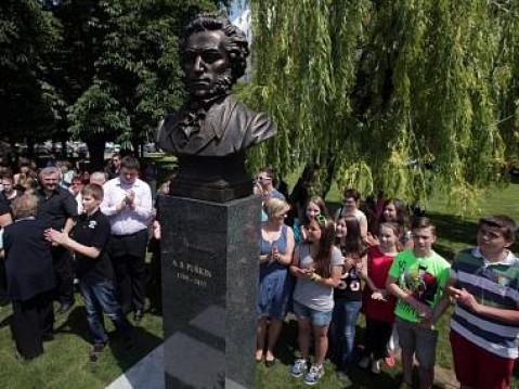 Открытие памятника Пушкину - это начало нового литературного проекта
